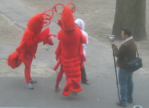 lobster cosplay